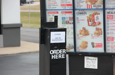 KFC closed
