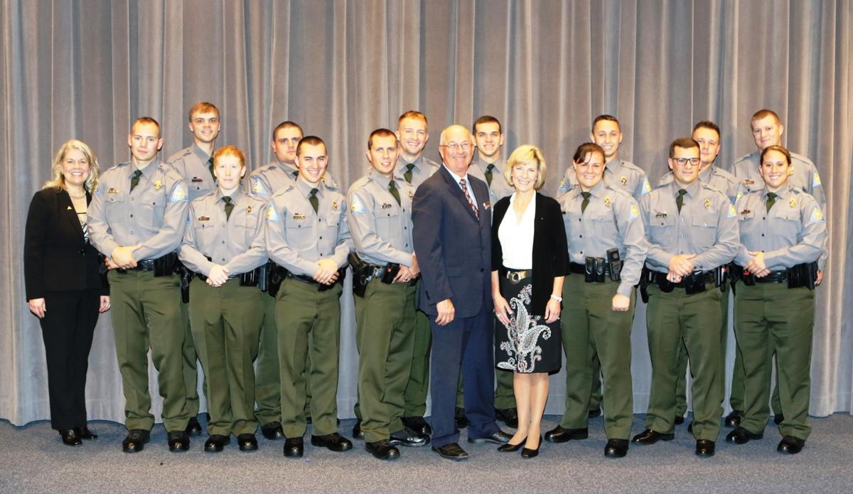 Conservation agent class of 2017