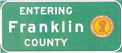 New Franklin County Sign