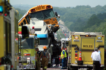 Fatal Pileup on I-44 Prompts NTSB Call for Cellphone Ban