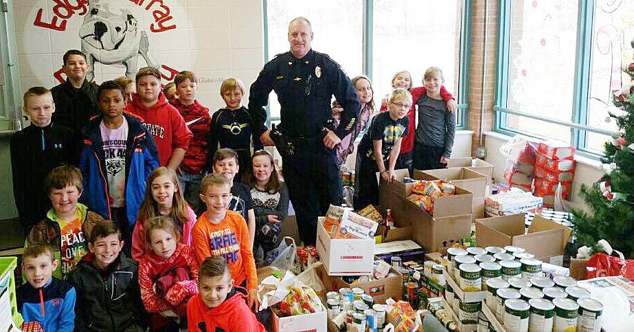 Cops and Kids Food Drive