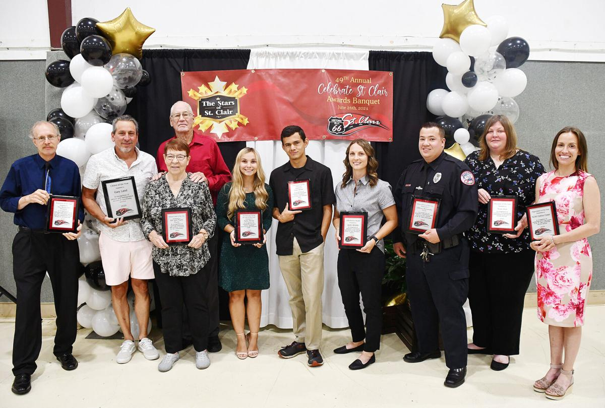 St. Clair Chamber of Commerce Banquet Honorees