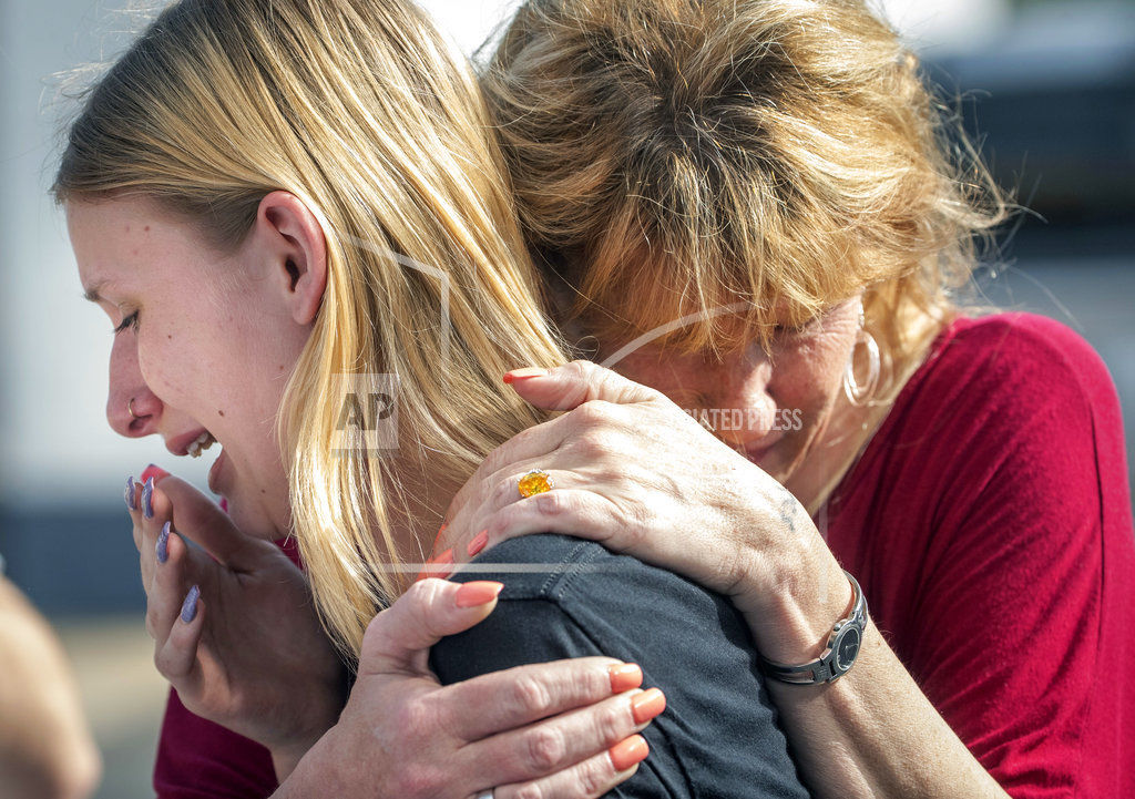APTOPIX School Shooting Texas