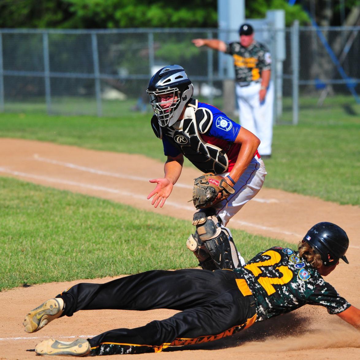 Junior Legion —New Haven Post 366 vs. Washington Post 218, Championship Series Game 2