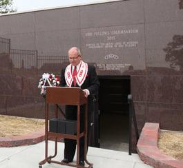 Columbarium Dedicated