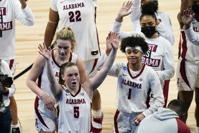 NCAA North Carolina Alabama Basketball