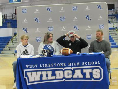 West Limestone's Helms signs with Western Kentucky