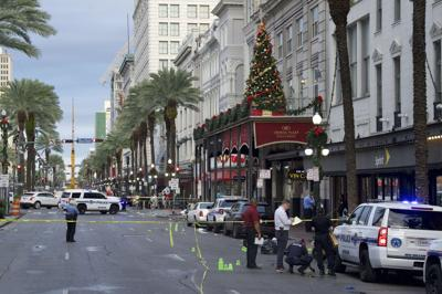 New Orleans police leader: 'Senseless' shooting wounds 10