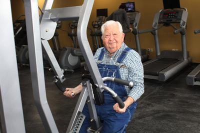 Exchange-Elderly Gym Member