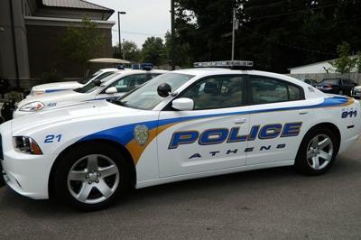 Athens patrol car