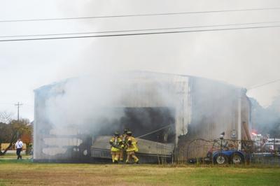 Winslow Road fire