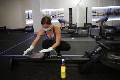 Virus Outbreak Gyms Are Back