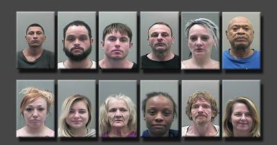 12 arrested in drug bust