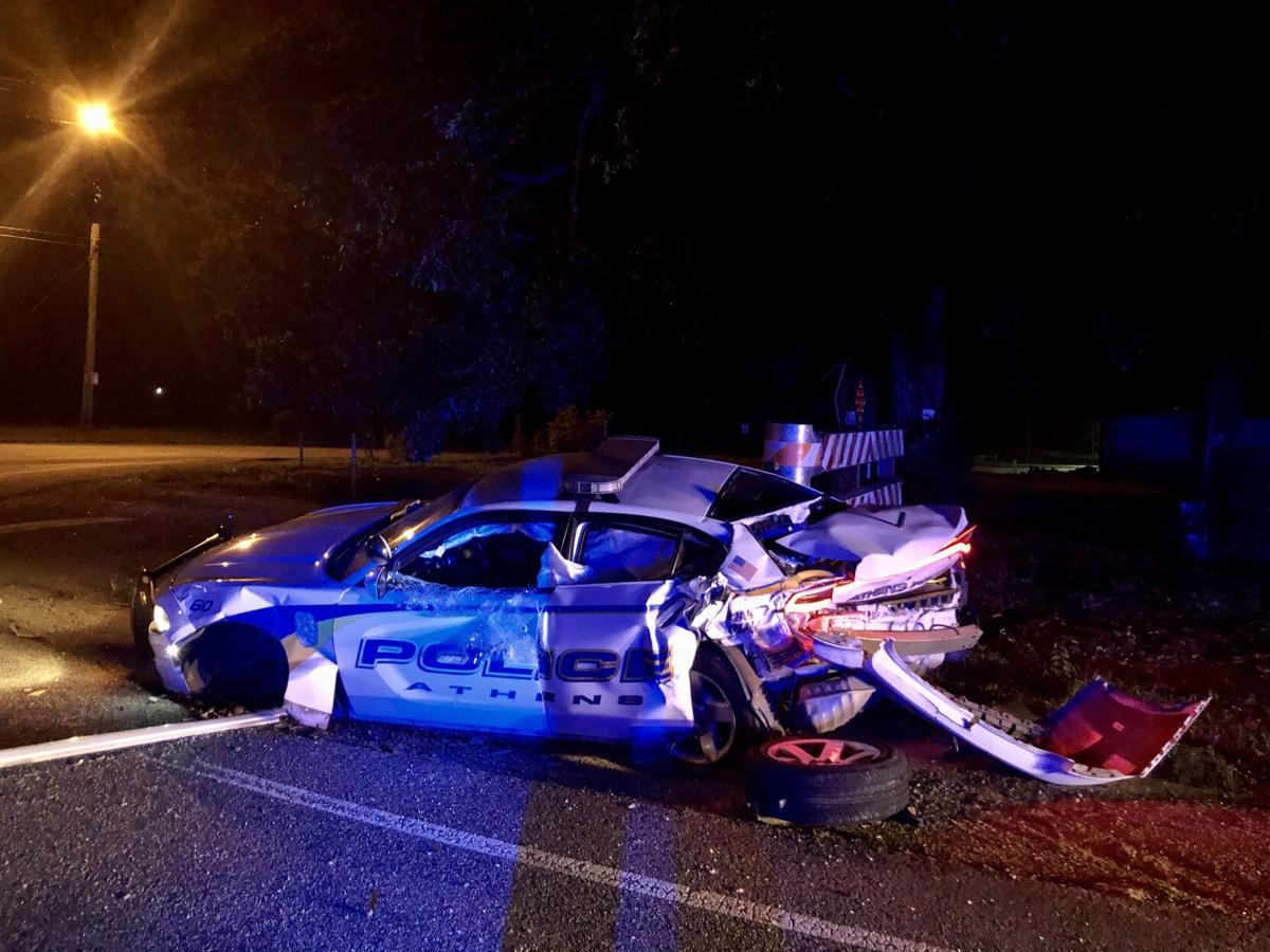 APD speeding crash