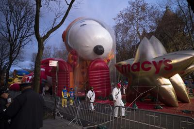 Thanksgiving Parade Balloons