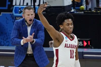 NCAA Maryland Alabama Basketball