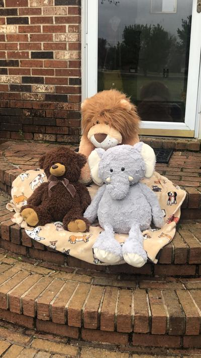 ON THE HUNT: Stuffed bears help communities avoid boredom