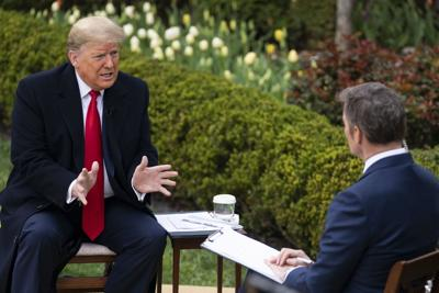 Trump hoping to see U.S. economy reopened by Easter amid virus