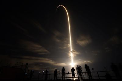 APTOPIX SpaceX Crew Launch