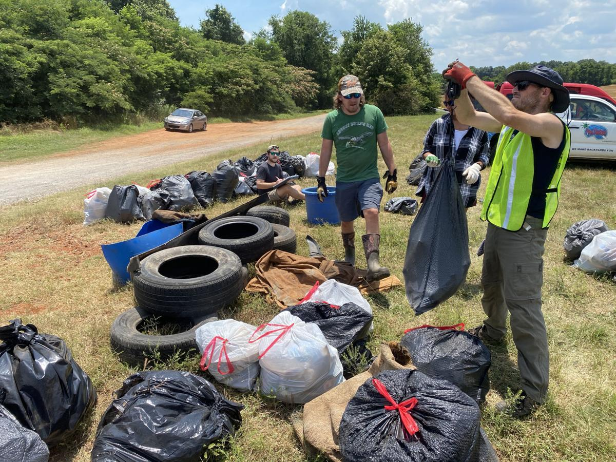 Swan Creek cleanup 2