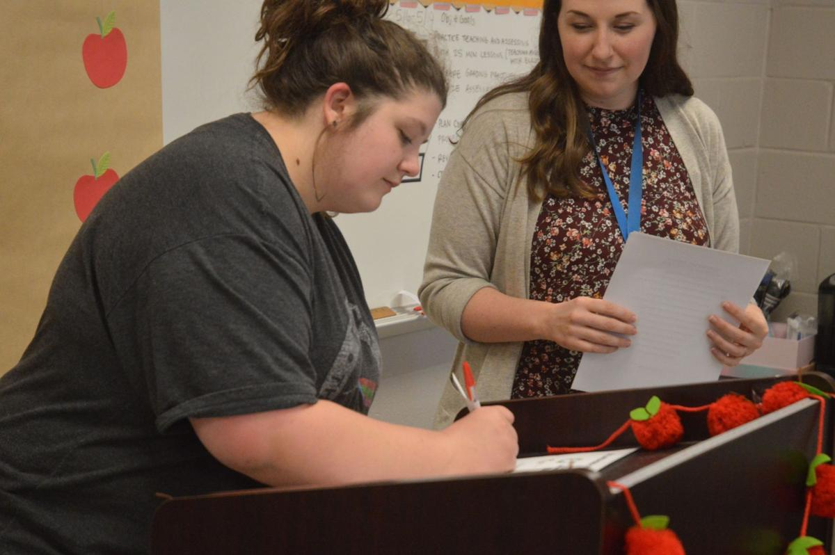 MAKING THE GRADE: Limestone students commit to educate