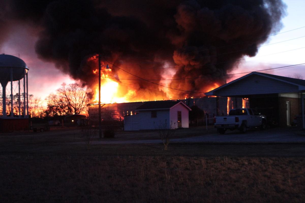 New Cut barn fire