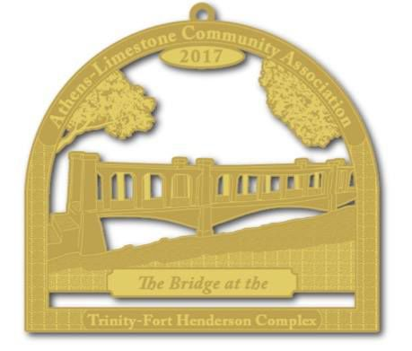 Trinity bridge ornament