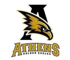 Athens Golden Eagles logo