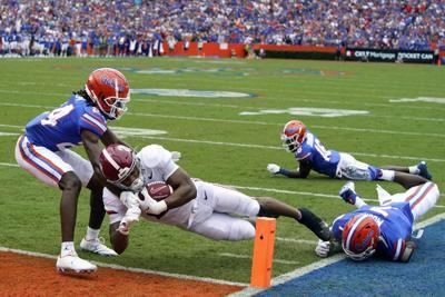 APTOPIX Alabama Florida Football