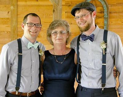 Connie Ridgeway and sons