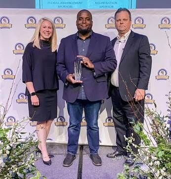2021 Chamber Business Person of the Year Jerome Malone