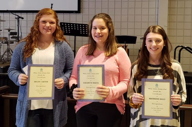 Athens Ladies Civitan announces essay contest winners | Local News