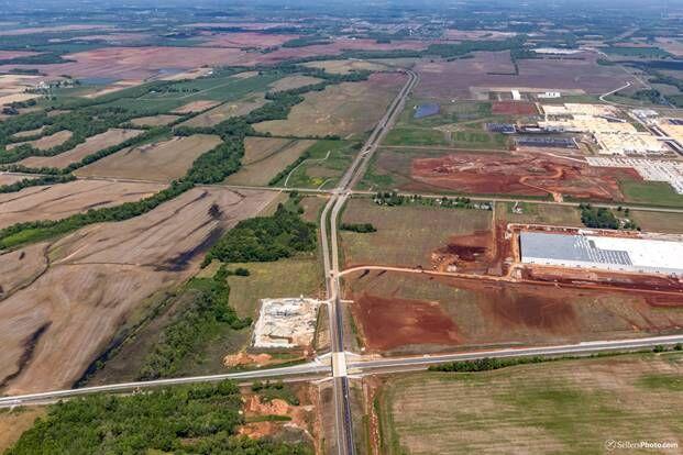 Greenbrier Parkway aerial.jpg