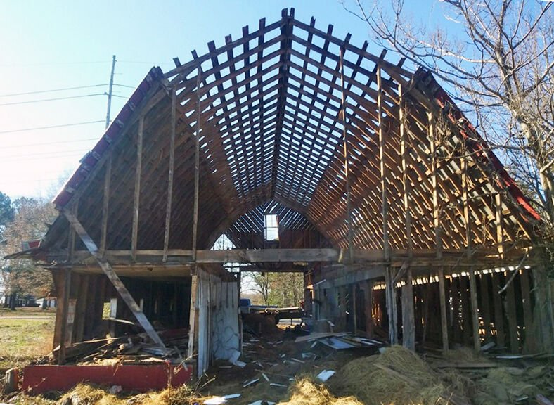 Old barn demo 2