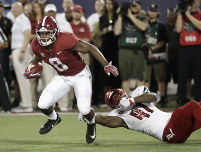 No. 1 Alabama tries to keep rolling against Arkansas State