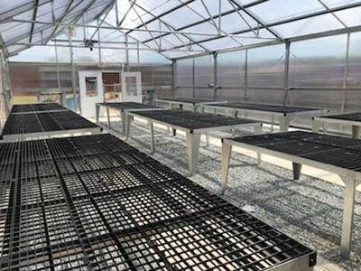 READY FOR LEARNING: Tanner greenhouse complete for next school year