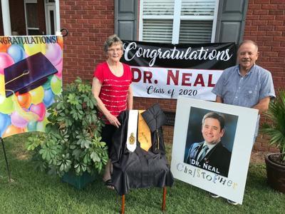 Neal Christopher graduation