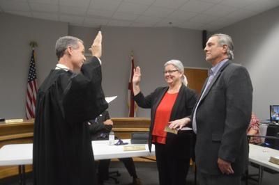 Maples oath of office