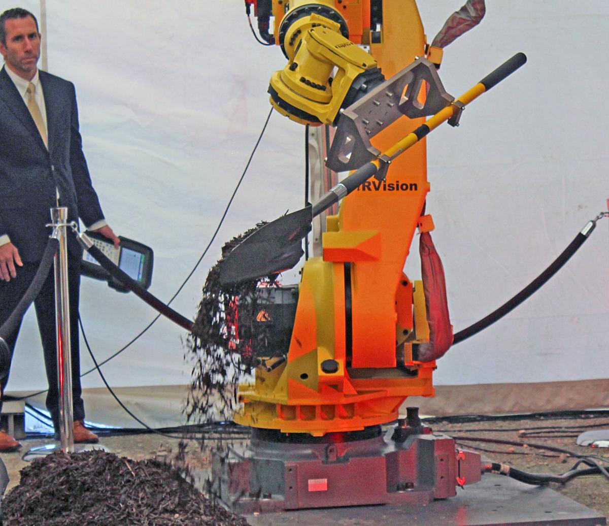 Groundbreaking robot