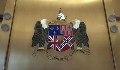 Coat of Arms-Confederate Flag
