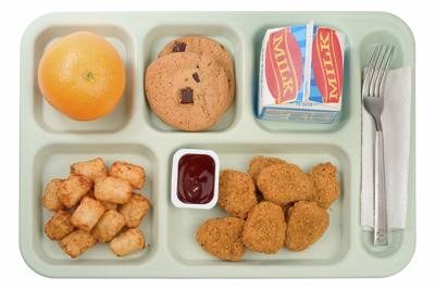 School lunch menu icon