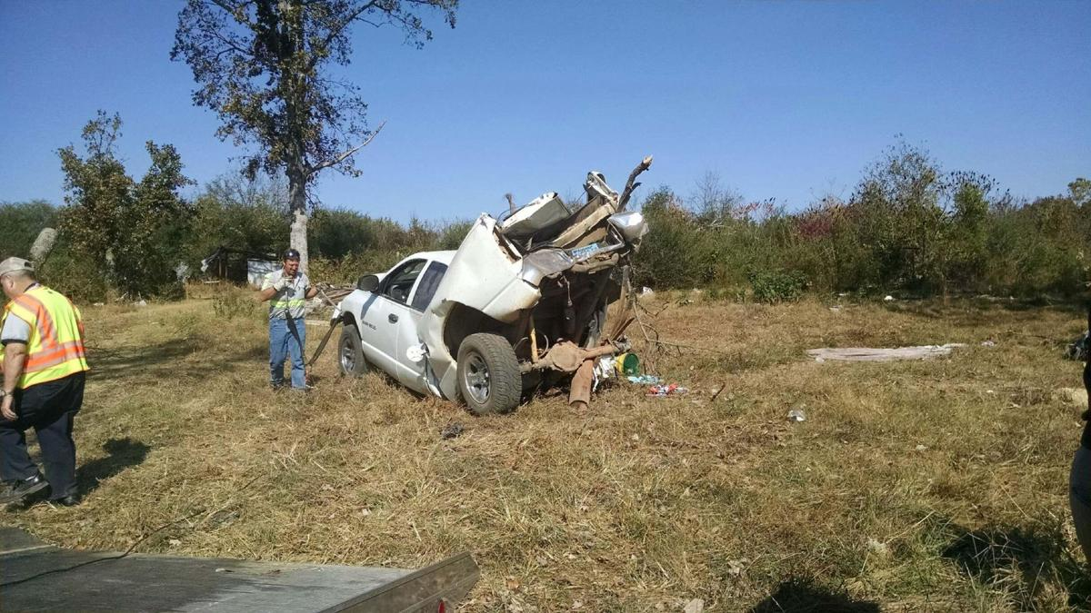 UPDATE: State inmate caught after crashing Limestone County