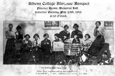 LIMESTONE HISTORICAL SOCIETY: Women's suffrage to be featured at next meeting