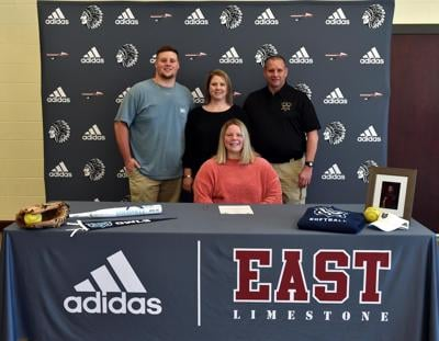 East Limestone pitcher signs to play in college