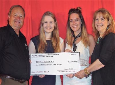 Rigney awarded scholarship