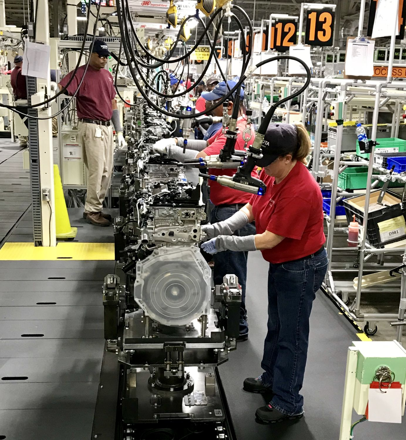 Huntsville Toyota Plant Launches New Engine | Local News | Enewscourier.com