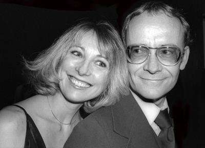 Terri Garr and Buck Henry