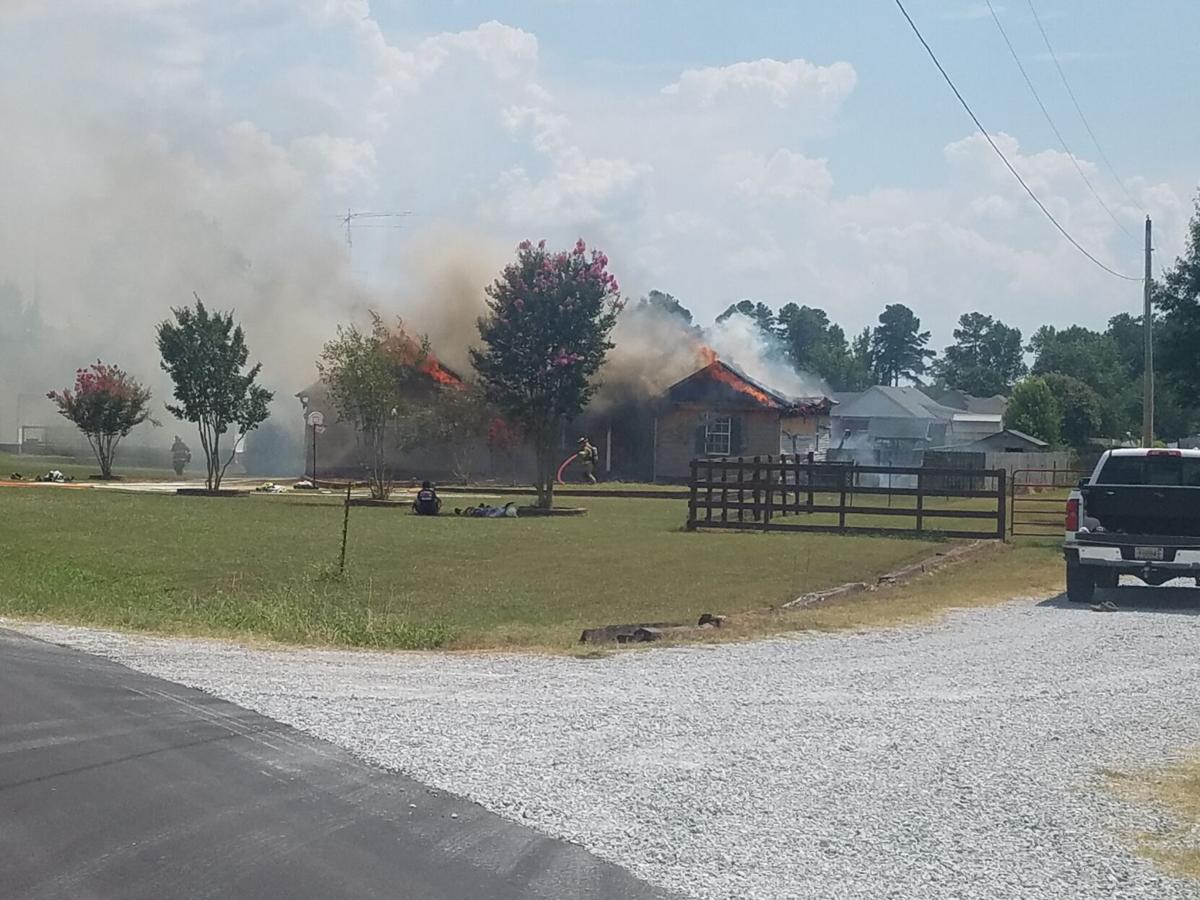 Copeland Road fire 2