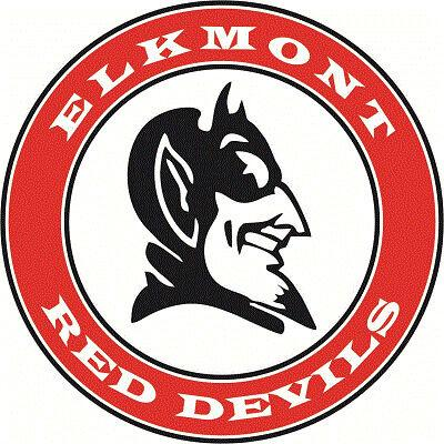 Elkmont Red Devils logo