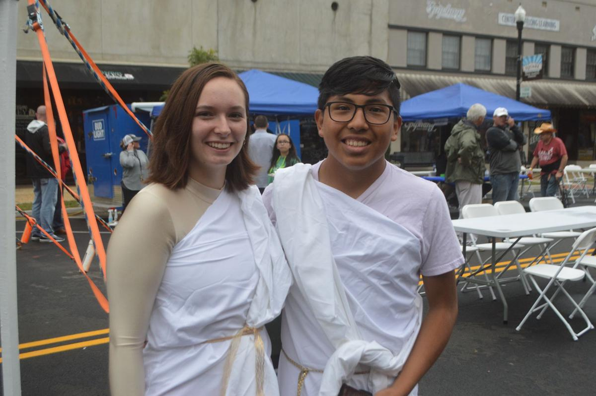 Two in togas